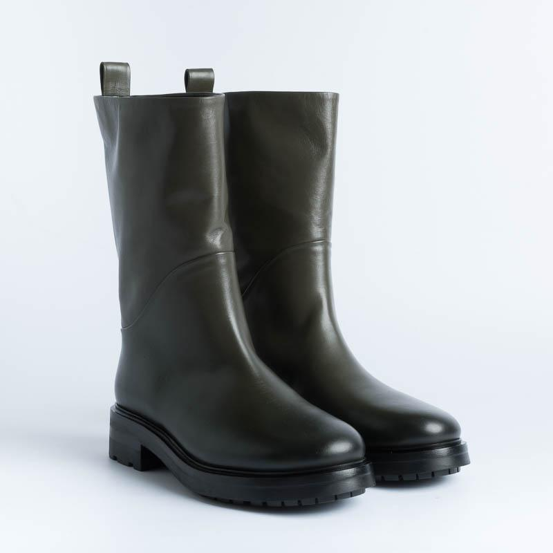 STRATEGIA - Ankle boot A5003 - Military Talc Shoes Woman Strategy