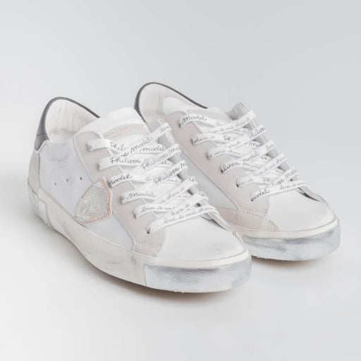 PHILIPPE MODEL - PRLD MA02 - ParisX - White Black Philippe Model Paris Women's Shoes