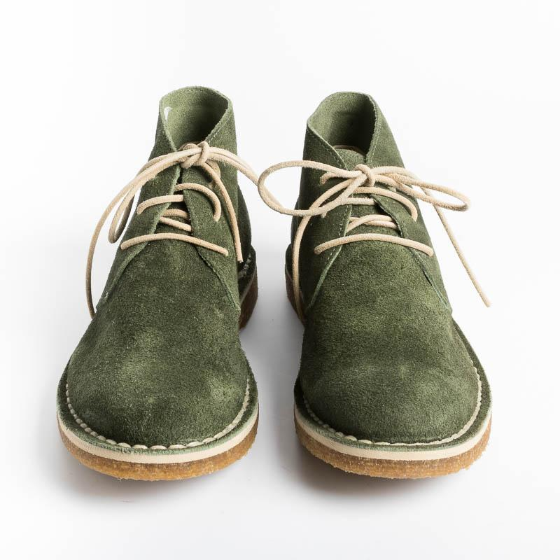SACHET PRIVATE LABO - Ankle boot - Deep Lichen Green Men's Shoes SACHET - Men's Shoes Collection