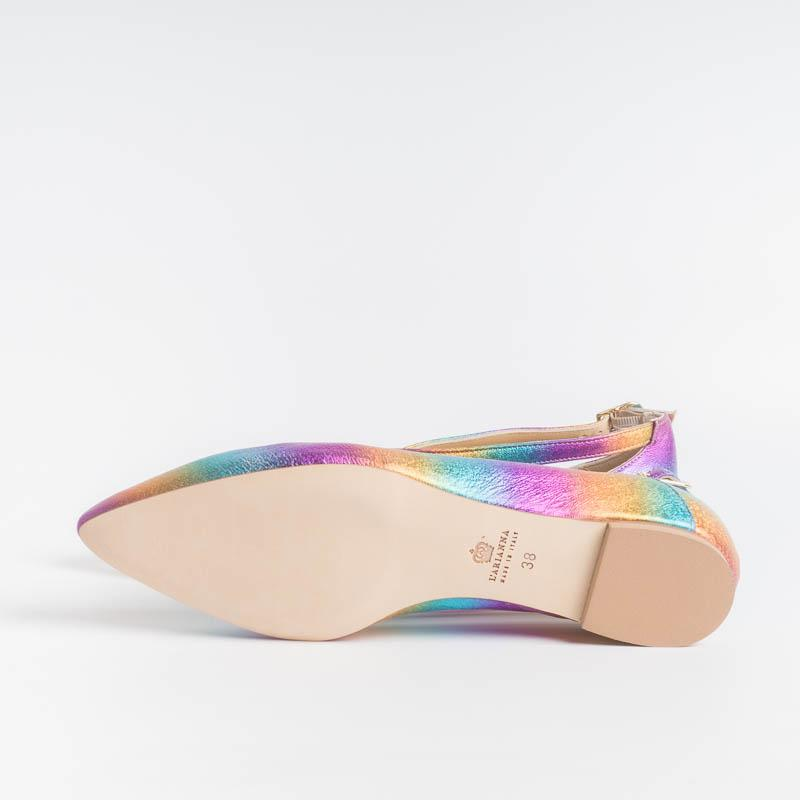 L 'ARIANNA - Ballerina BL1218 - Laminate Multicolour L'Arianna women's shoes