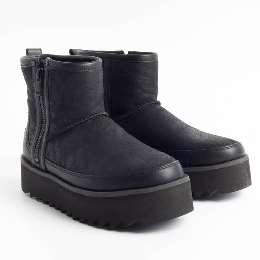 UGG - Original Classic REBEL BIKER MINI - 1105314 - BLACK Scarpe Donna Ugg