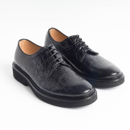 SEBOY'S - Derby - 370 - Black Coconut Shoes Woman SEBOY'S