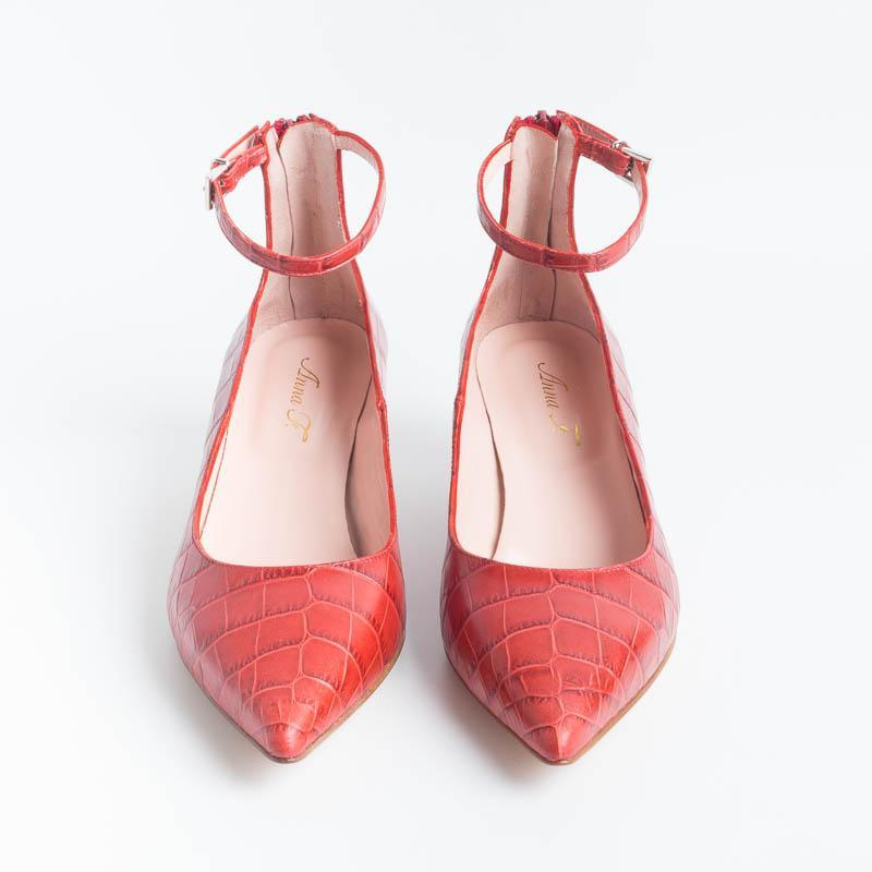 ANNA F. - Décolleté - 1092 - Coconut red Shoes Woman Anna F.