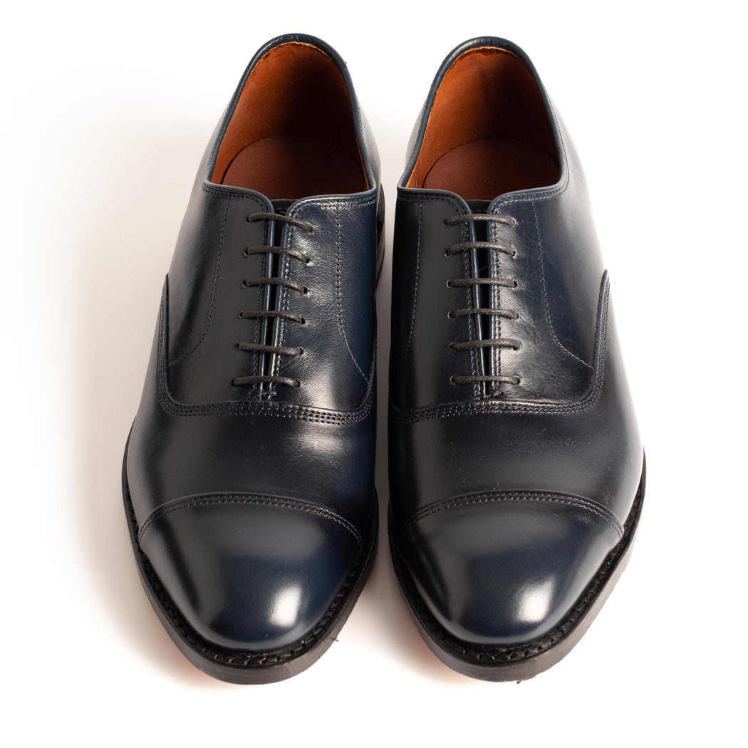 ALLEN EDMONDS - 5679 - Park Avenue - Navy Blue Men's Shoes Allen Edmonds