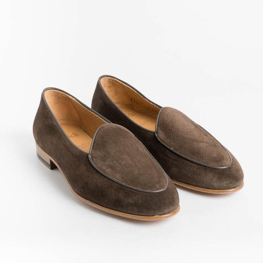 BERWICK 1707 - Women's Moccasin 170 - Dark Brown Suede Women's Shoes BERWICK 1707 - Women's Collection