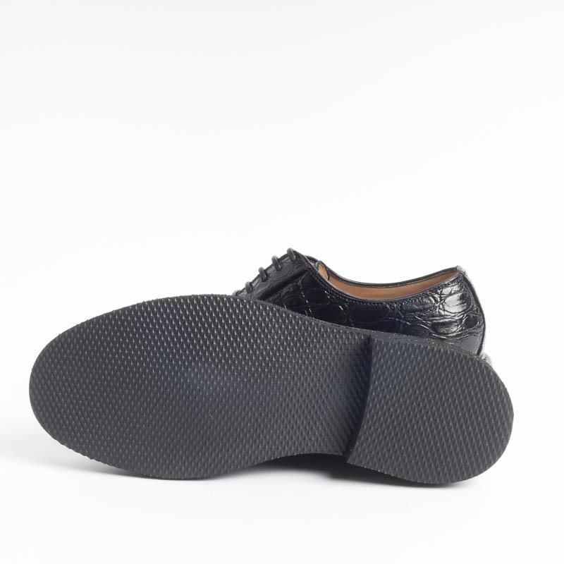 SEBOY'S - Derby - 370 - Coconut Black Women's Shoes SEBOY'S