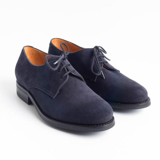 BERWICK 1707 - Smooth derby - Blue suede Shoes Woman BERWICK 1707 - Woman Collection
