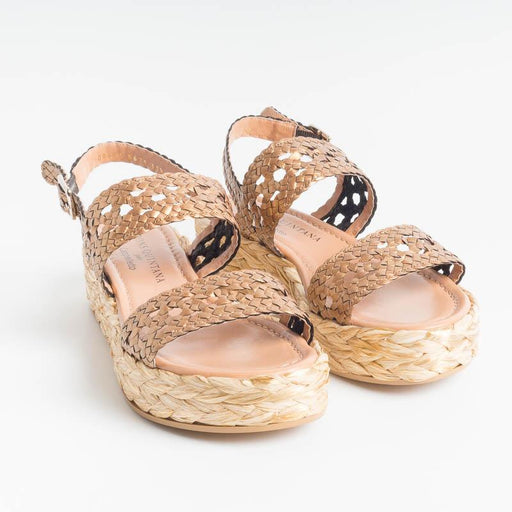 PONS QUINTANA - FORLI 8671 Sandals - Bronze Women's Shoes PONS QUINTANA