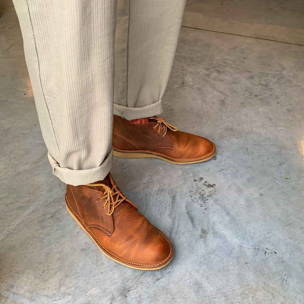RED WING SHOES - Ankle boot Men's Chukka 3322 - Copper Men's Shoes Red Wing Shoes