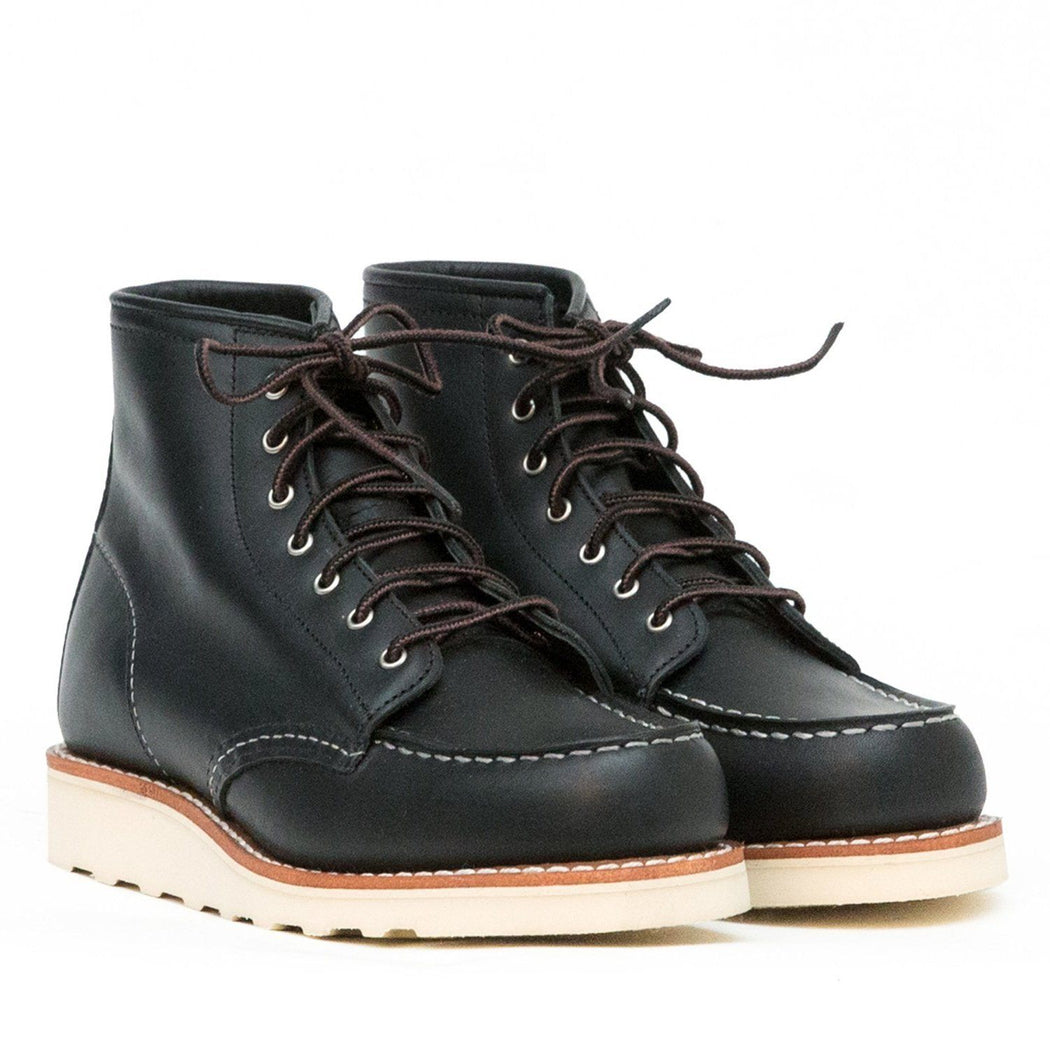 RED WING - 3373 Moc Toe - black boundary Women's Shoes Red Wing Shoes