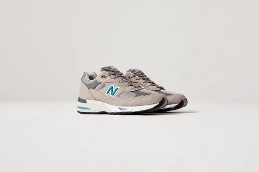 NEW BALANCE - Sneakers 991ANI - 20th Anniversary - Leather Gray Women's Shoes NEW BALANCE - Women's Collection