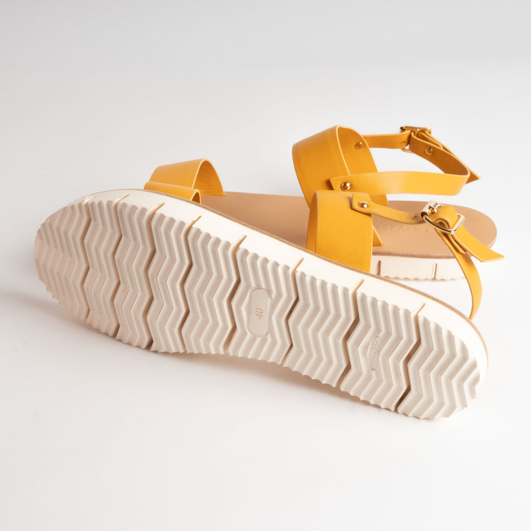 EDDY DANIELE - Michela - Yellow Women's Shoes EDDYDANIELE