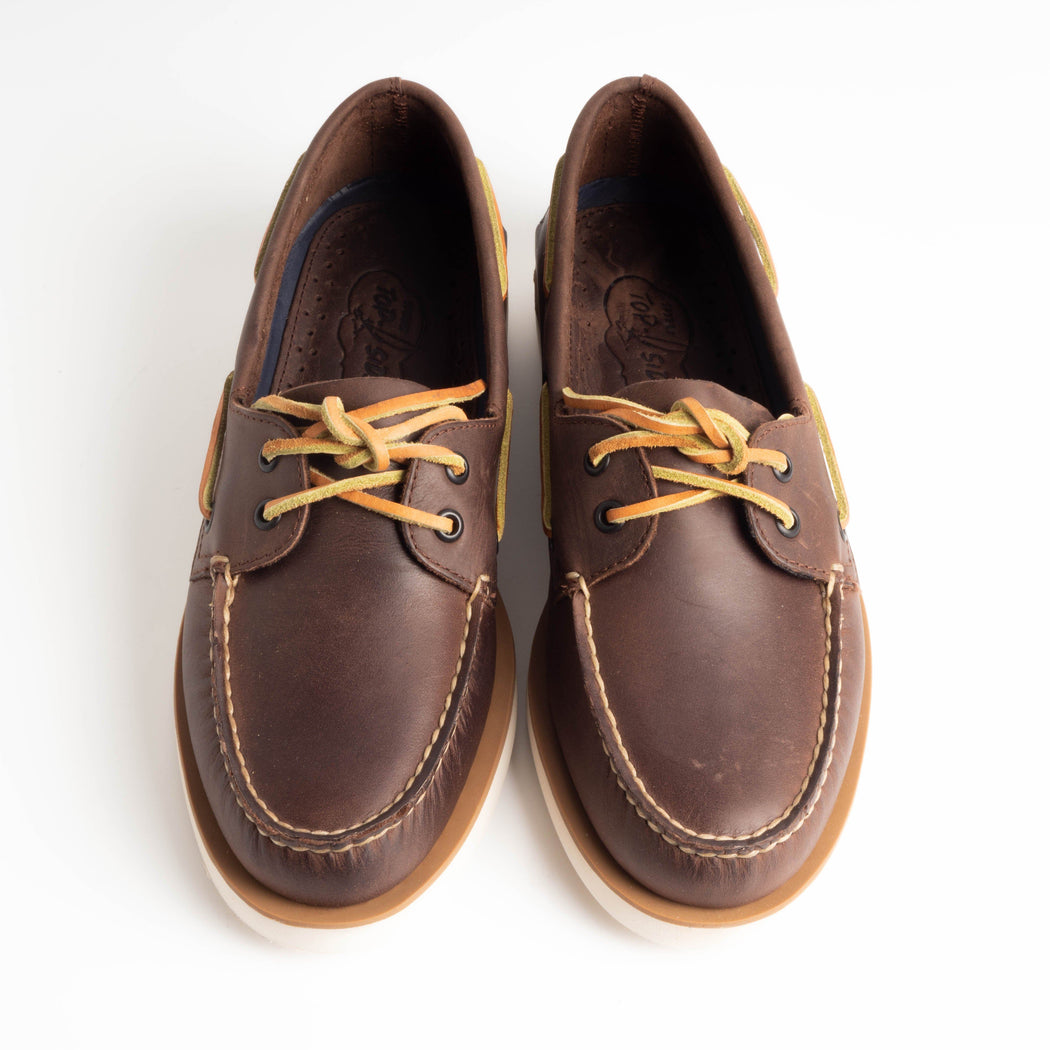 SPERRY TOP SIDER - STS17738 - Captain's moc brown Scarpe Uomo SPERRY TOP SIDER
