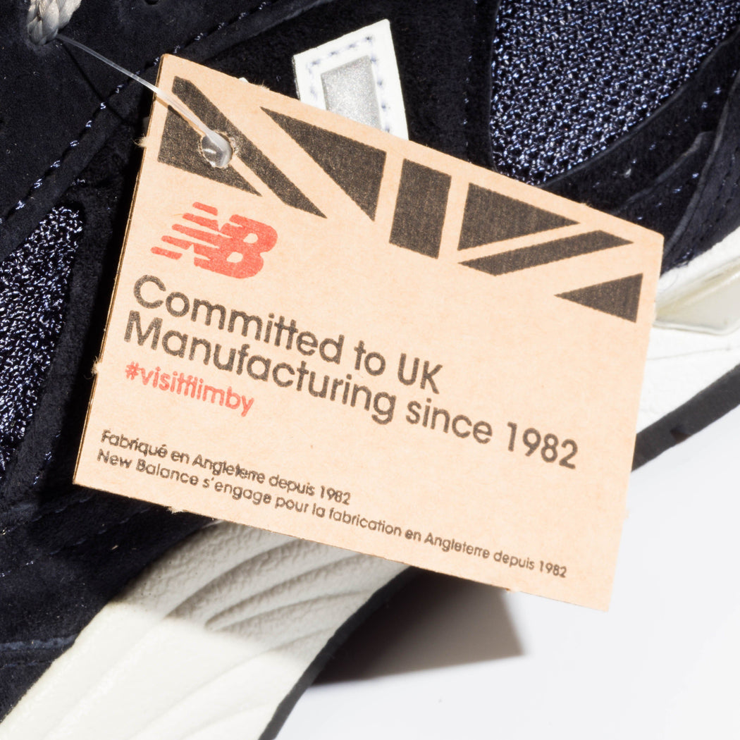 NEW BALANCE - BestSeller - Leather 991 - m991nv - Navy - Cappelletto Shop Online