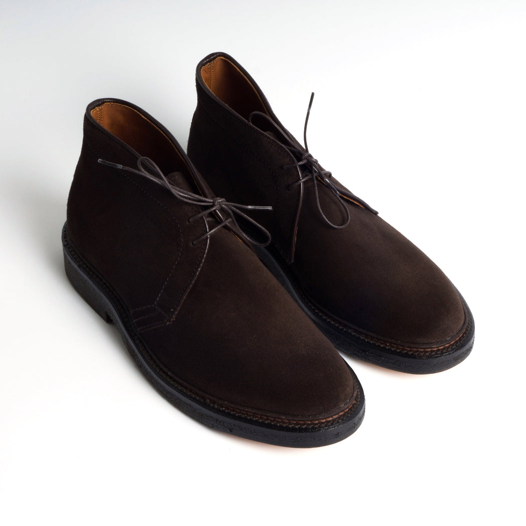 ALDEN - 13791Y - Dark brown - Suede - Call to buy Alden Men's Shoes