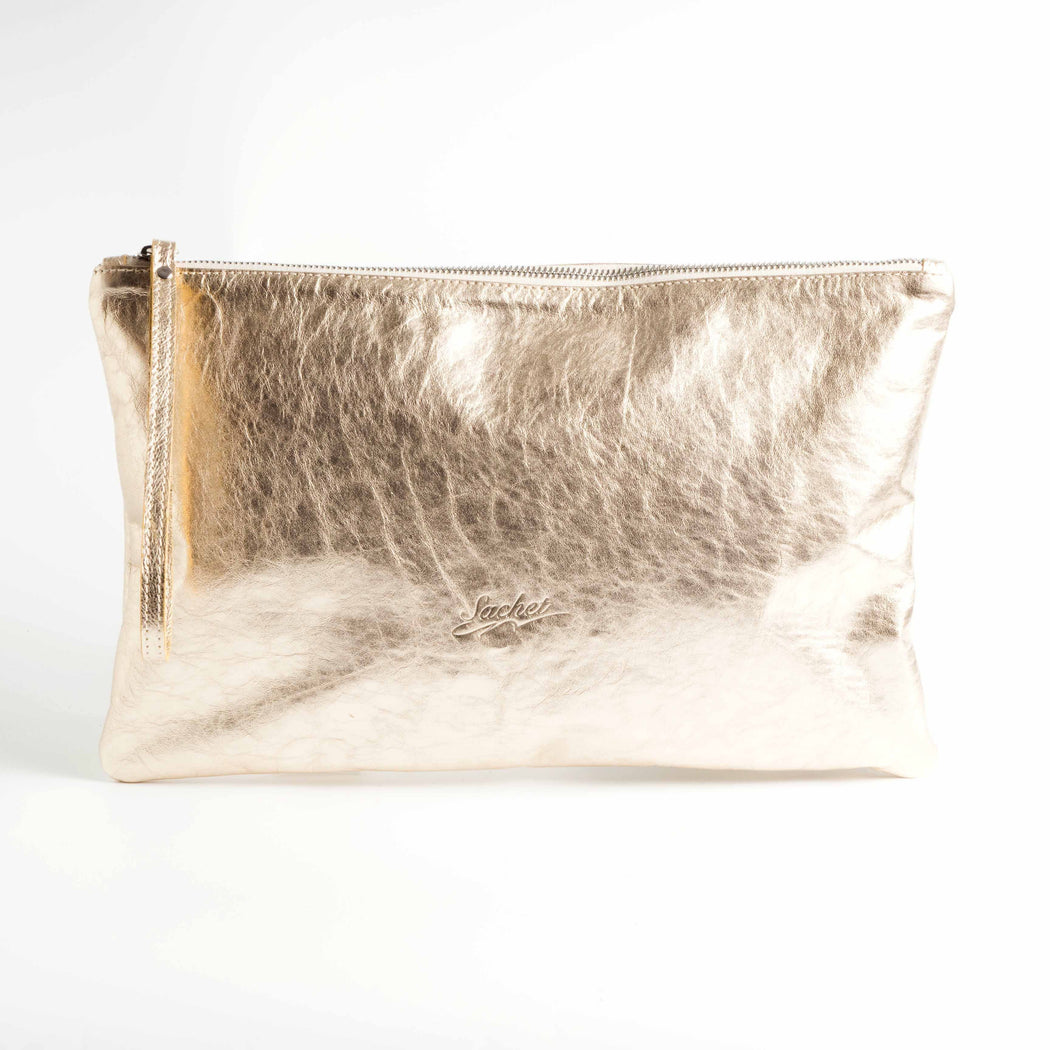 SACHET - Maxi Clutch NATUR - Various colors Bags SACHET GOLD