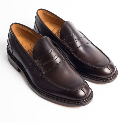TRICKER'S - James Espresso - Brown Tricker's Men's Shoes