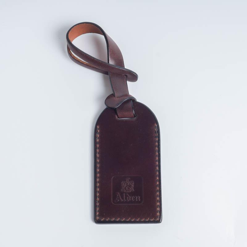 ALDEN - Briefcase Tag - Burgundy Alden Men's Accessories