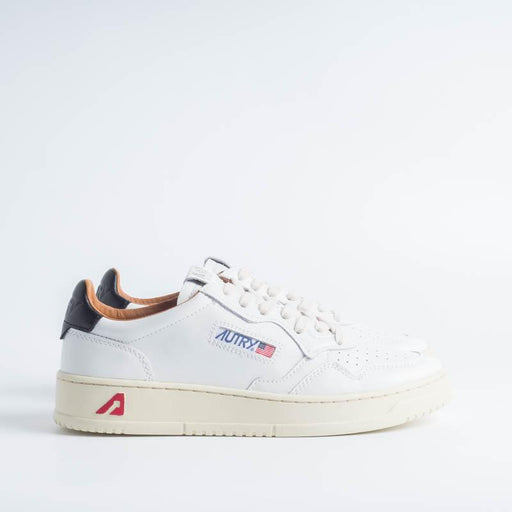 AUTRY LN05 - LOW MAN ALL LEAT - White / Leather Men's Shoes AUTRY - Men's collection