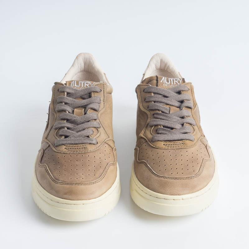 AUTRY GG10 - LOW MAN GOAT LEAT - Military Men's Shoes AUTRY - Men's collection
