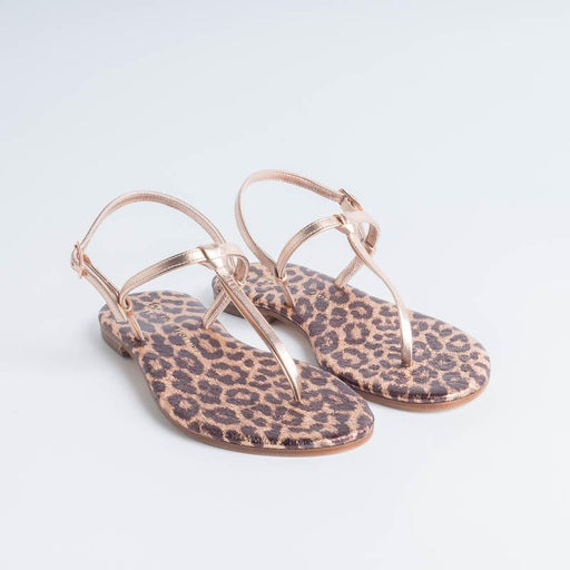 PAOLA FIORENZA - Knot sandal - Leopard Woman Shoes PAOLA FIORENZA