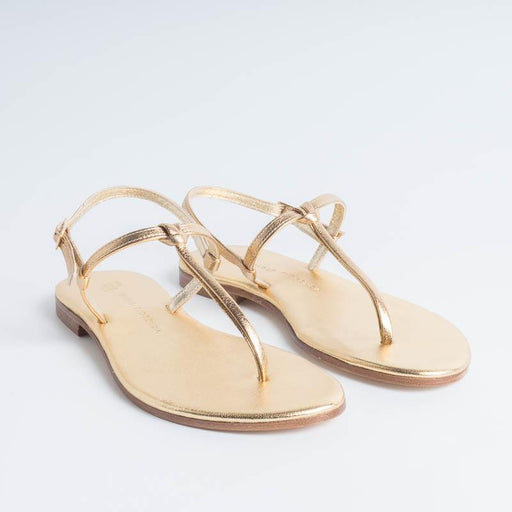 PAOLA FIORENZA - Knot sandal - Gold PAOLA FIORENZA Women's Shoes