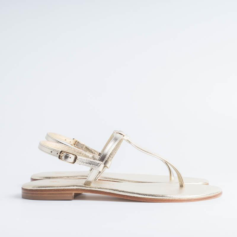 PAOLA FIORENZA - Knot sandal - Platinum Shoes for Women PAOLA FIORENZA
