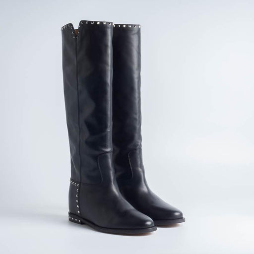VIA ROMA 15 - 2852T - Malibù Boot - Black Women's Shoes Via Roma 15