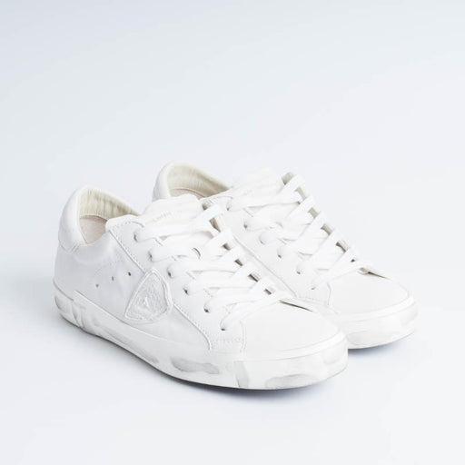 PHILIPPE MODEL - PRLD 1012 - ParisX - Basic White Women's Shoes Philippe Model Paris