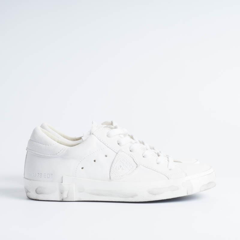 PHILIPPE MODEL - PRLD 1012 - ParisX - Basic Bianco Scarpe Donna Philippe Model Paris