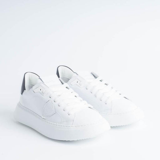 PHILIPPE MODEL - BTLD V010 - Temple - White / Black Philippe Model Paris women's shoes