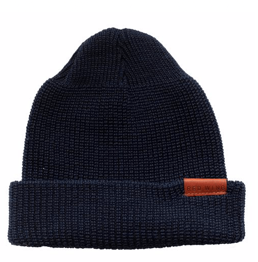 RED WING SHOES - 97490 merino wool Cap - Navy Men's Accessories RED WING - BLUE Men's Collection
