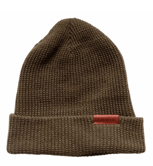 RED WING SHOES - 97491 merino wool Cap - Olive Men's Accessories RED WING - GREEN Men's Collection