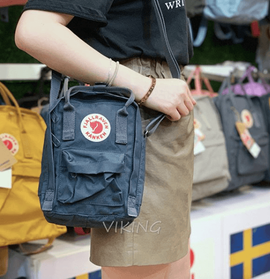 Copy of FJÄLLRÄVEN Kånken Sling 560 Navy Fjallraven Backpack