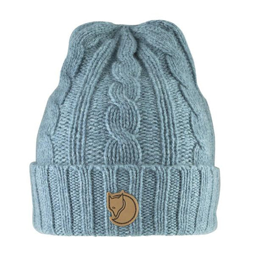 FJALLRAVEN - Braided Knit Hat Women's Accessories Fjallraven Frost Green