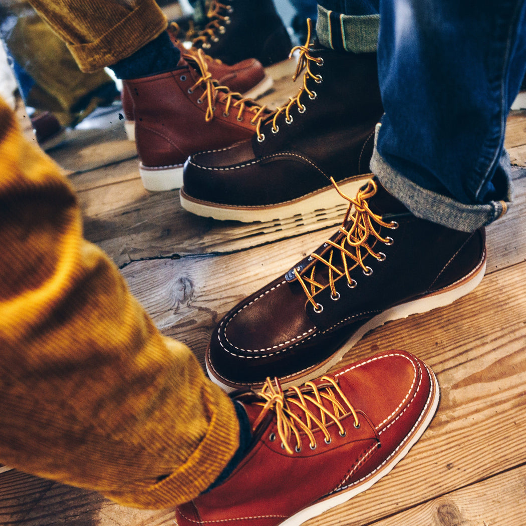 RED WING - 3375 Moc Toe - gold legacy Women's Shoes Red Wing Shoes