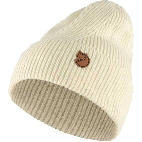 FJALLRAVEN - Directional Rib Beanie - Various Colors Men's Accessories Fjallraven Chalk White