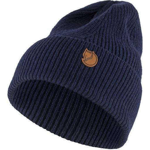 FJALLRAVEN - Directional Rib Beanie - Various Colors Men's Accessories Fjallraven Dark Navy