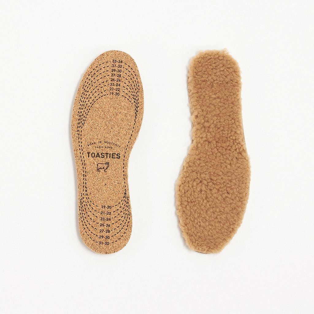 TOASTIES - Baby Insole - Beige Women's Accessories Toasties