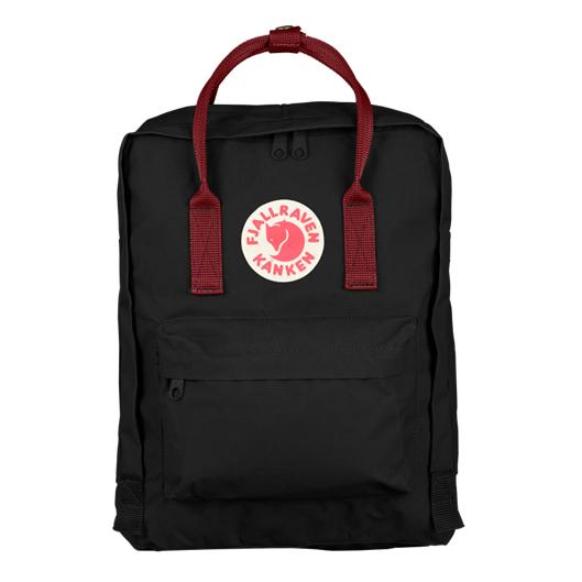 FJÄLLRÄVEN Kånken 550-326 Black-Ox Red Fjallraven backpack