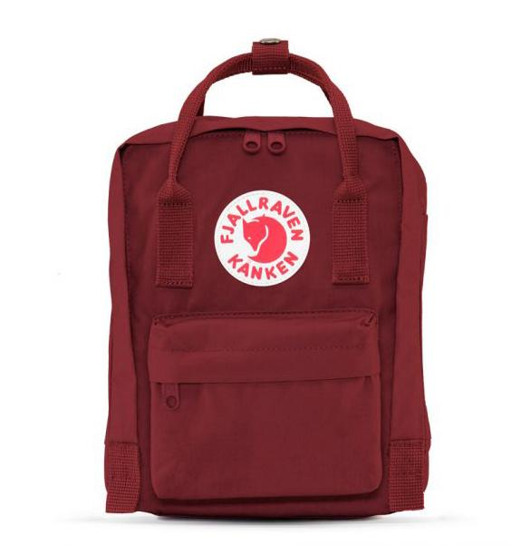 FJÄLLRÄVEN Kånken Mini 420 Plum Backpack Fjallraven