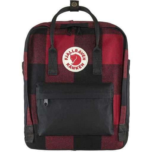 FJÄLLRÄVEN Kånken Re-Wool 320 550 Red Black Backpack Fjallraven