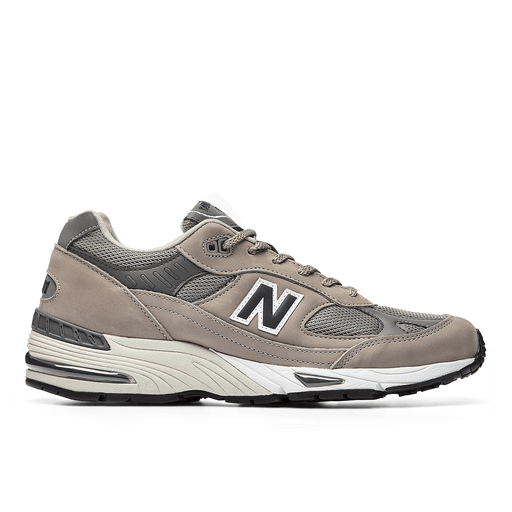 NEW BALANCE - Sneakers 991ANI - 20th Anniversary - Leather Gray Men's Shoes NEW BALANCE - Men's Collection