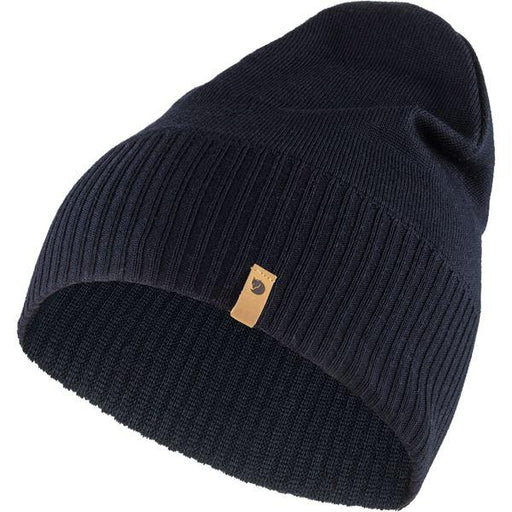 FJALLRAVEN - Merino Light hat - Various Colors Men's Accessories Fjallraven Dark Navy