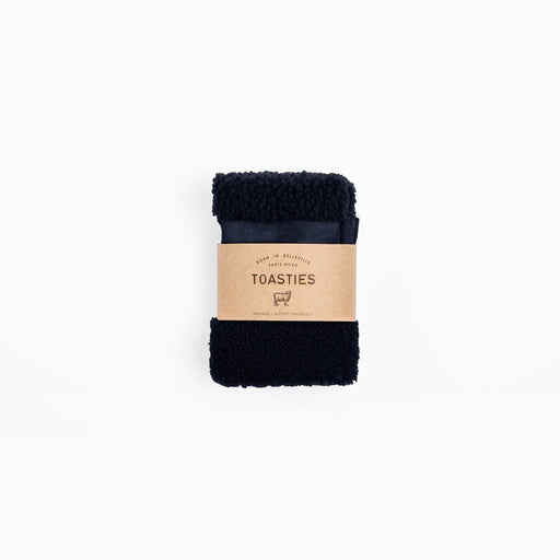 TOASTIES - Fingerless Gloves - Navy Blue Women's Accessories Toasties