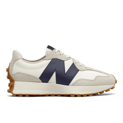 NEW BALANCE - Sneakers W327KB - White Blue Women's Shoes NEW BALANCE - Women's Collection
