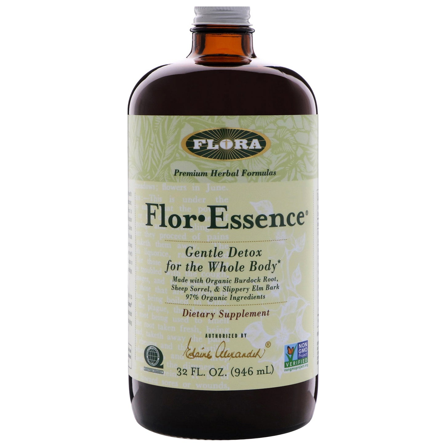 Flor Essence by Flora Liquid Tea Blend - 32 oz - 946 mL