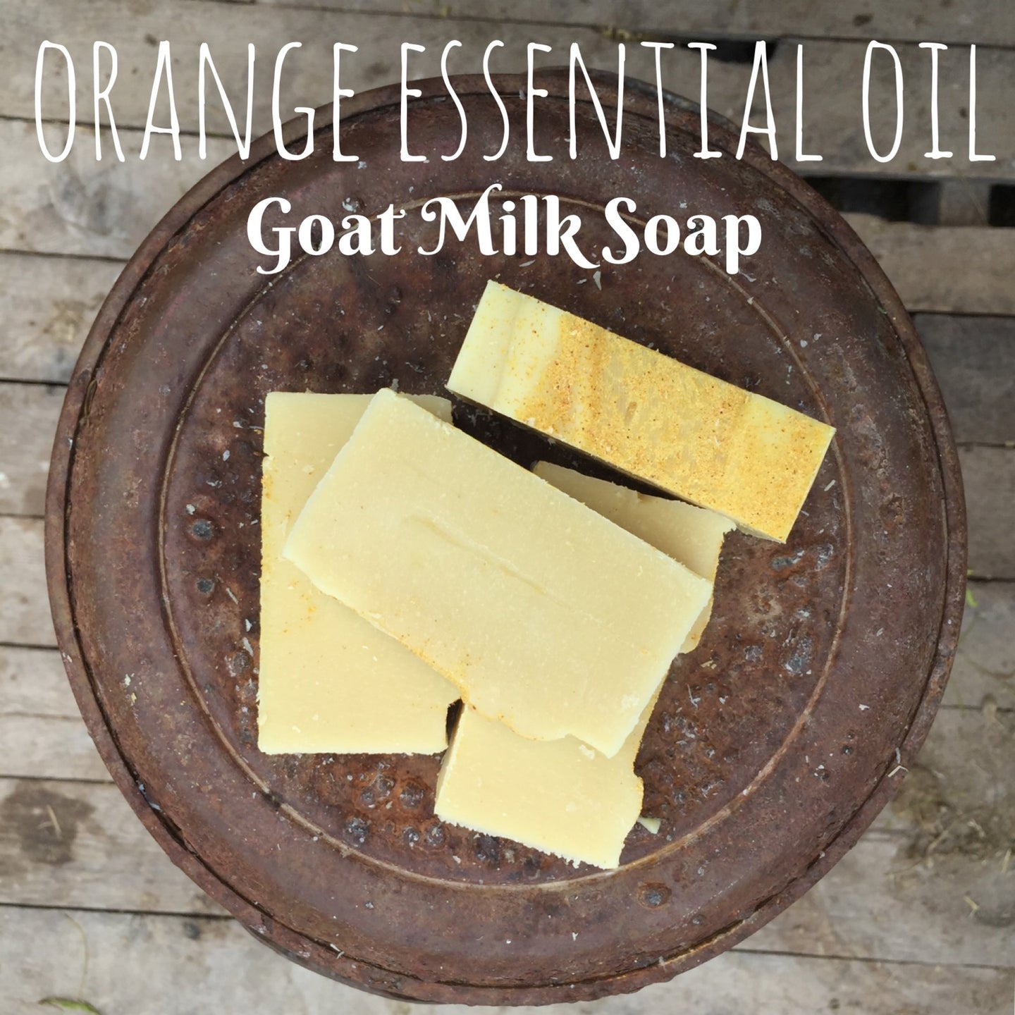 Edens Lilly Goat Milk Soap - Orange Essential Oil