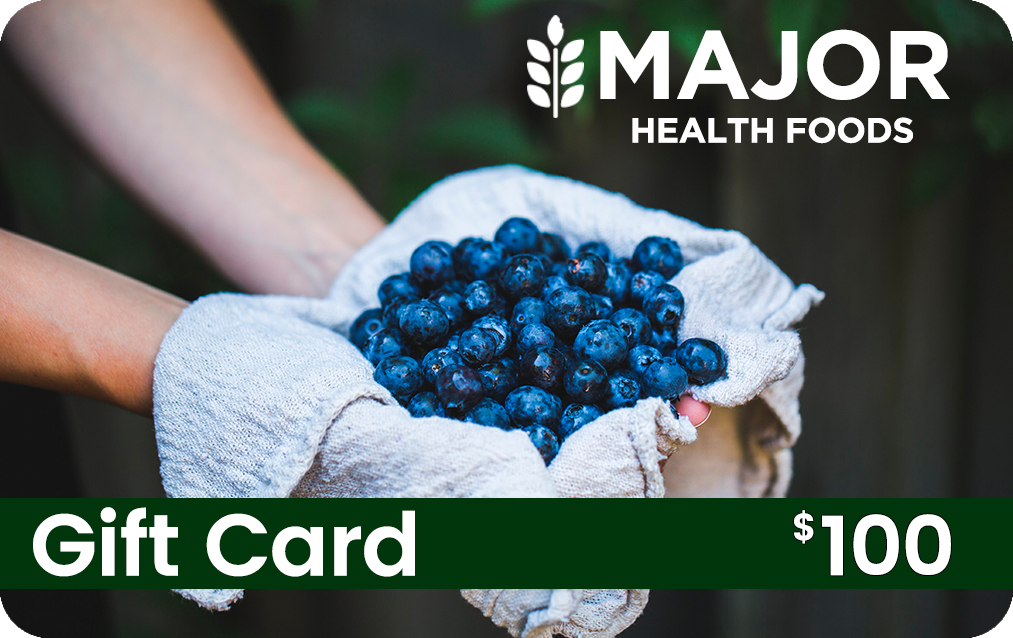 Major Health Foods Gift Card - $100