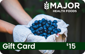 Major Health Foods Gift Card - $15